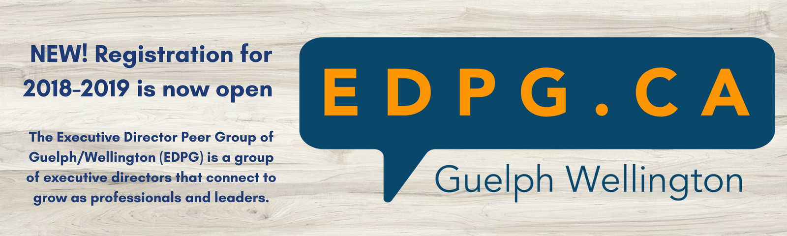the executive director peer group of guelph-wellington registration is open now