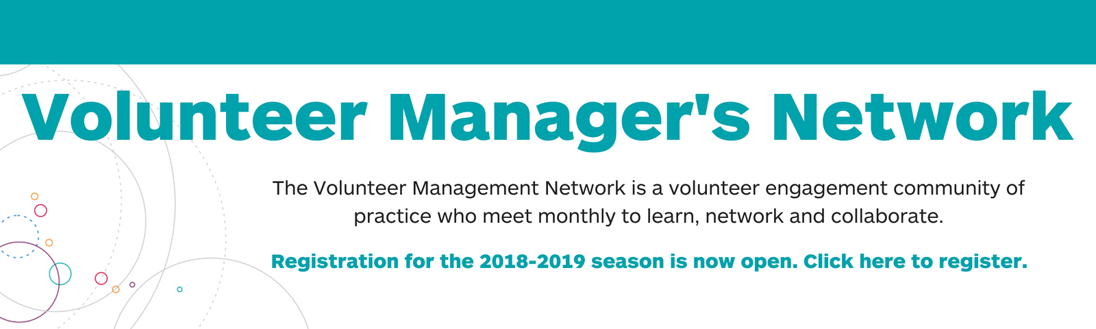 volunteer managers network graphic