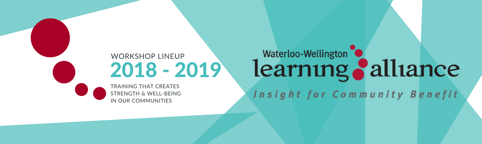 waterloo-wellington learning alliance community lineup 2018-2019