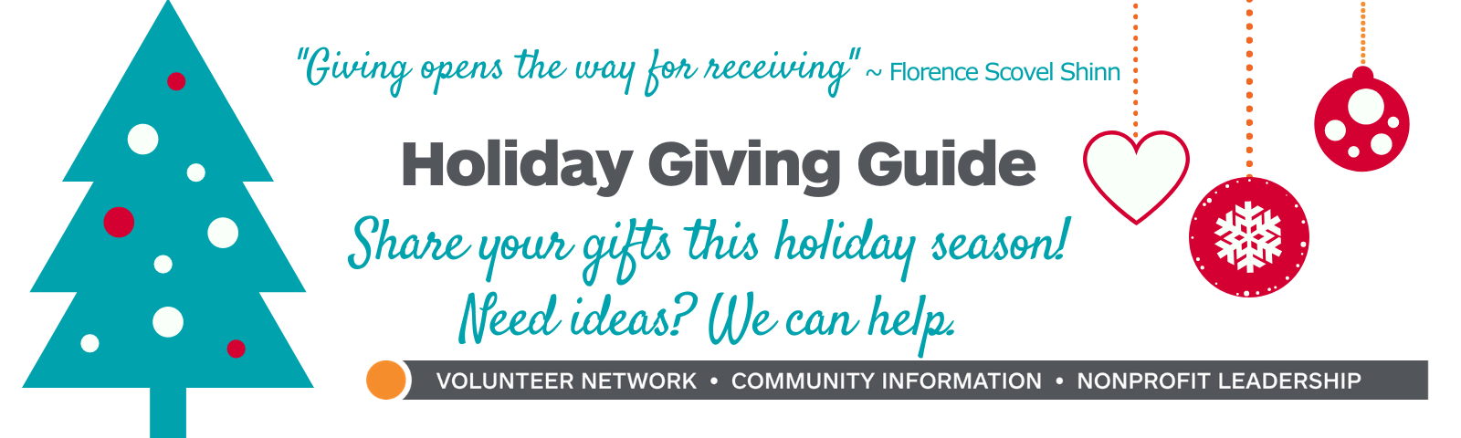 Holiday Giving Guide