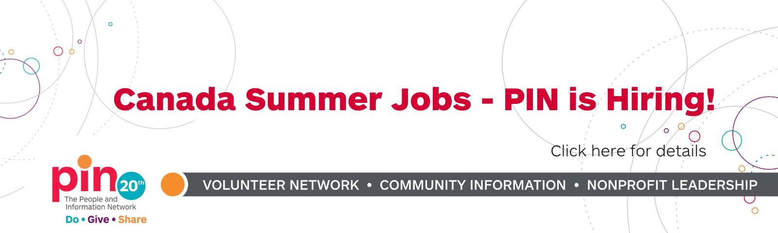 Hiring Canada Summer Jobs