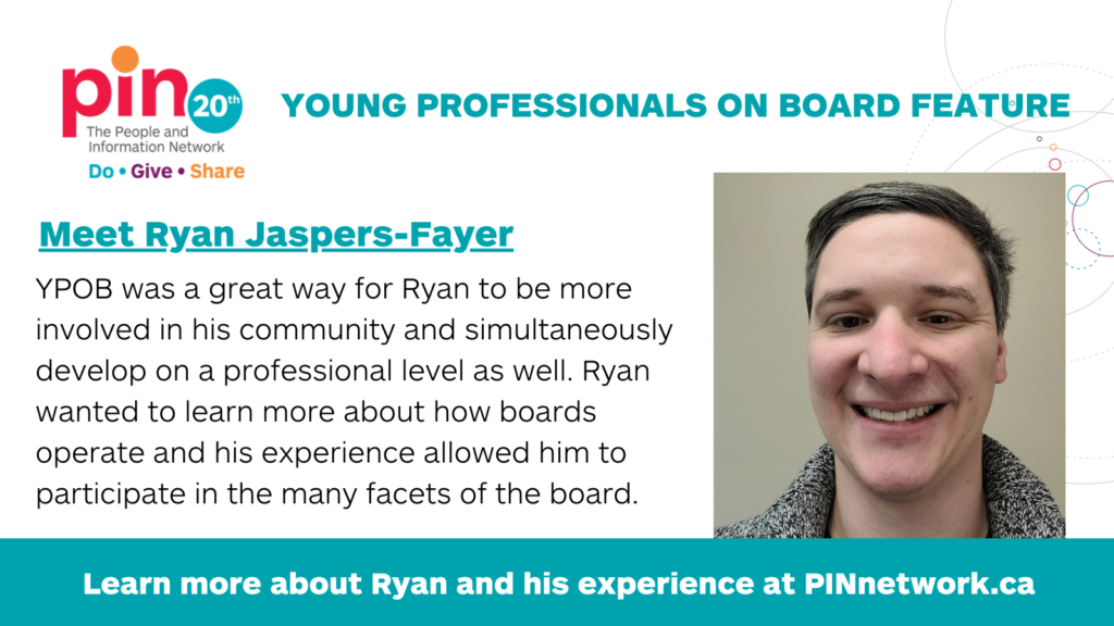 Young Professionals on Board Ryan Jaspers-Fayer