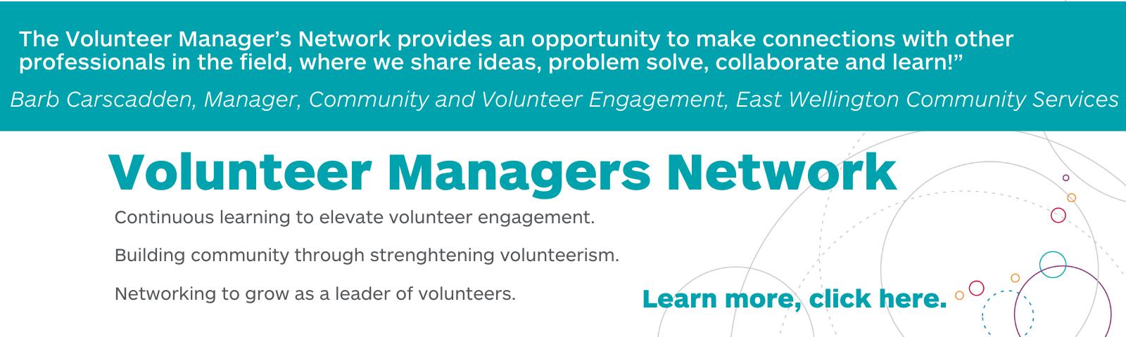 Volunteer Managers Network