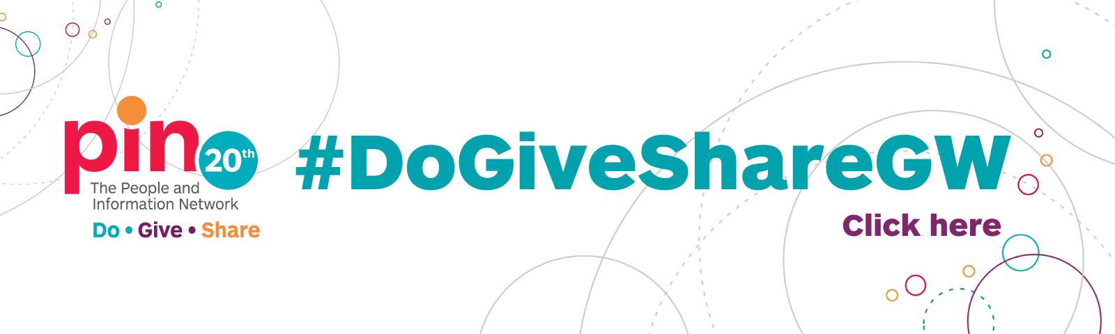 #DoGiveShareGW